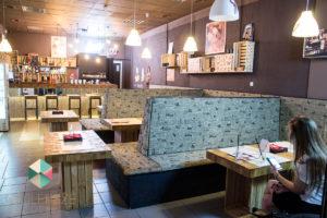 Najlepsze sushi w Lublinie Pałeczkami Sushi wnętrze